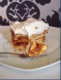 κορμός ψυγείου Cooking Time, Cooking Recipes, Cheesecake Tarts, Greek Sweets, Icebox Cake, Greek Recipes, Cheesecakes, French Toast, Deserts