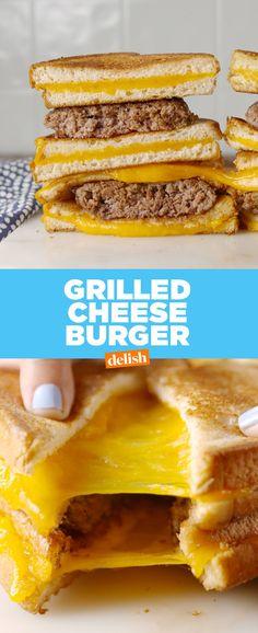 Grilled Cheese BurgerDelish