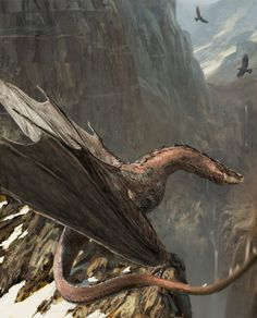 """fantasy-art-engine: """"Smaug by Hugh Ebdy """" - Dragons - Animals Dcc Rpg, Cool Dragons, Legends And Myths, Fantasy Beasts, Dragon Artwork, Dragon Rider, Mythical Creatures Art, Dragon Pictures, Creature Concept Art"""