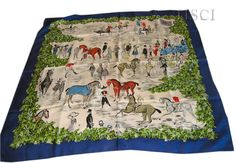 Polo de Bagatelle (from HSCI Hermes Scarf Photo Catalogue)