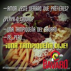 #LosjuevesNosGustaPara comer una Tampiqueña del BAVARO y ella lo sabe! #VeranoalaVeracruzana #PorfinVacaciones