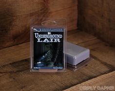 UNDERGROUND LAIR Geeky Scented Soap by Deeply by DapperSoaps, $6.00 Our Geeky and Wonderful Soaps, available on www.deeplydapper.com and https://www.etsy.com/shop/DapperSoaps