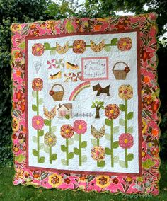 Dreaming of Oz quilt pattern....would be so cute in a different color palate! I wish I could quilt!