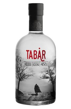 Gin Tabàr on Packaging of the World - Creative Package Design Gallery Wine Packaging, Cool Packaging, Design Packaging, Premium Gin, Brewery Design, Gin Brands, Gin Tasting, Rum, Gin Bottles
