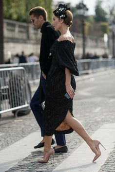 catch that stunningness from another angle. Ulyana looking amazing in Paris. #UlyanaSergeenko