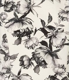 Etched floral pattern by Topshop Textiles, Textile Patterns, Flower Patterns, Print Patterns, White Prints, Floral Prints, Mono Floral, Backgrounds Wallpapers, Illustration Blume