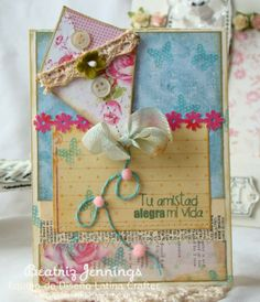 Sweet Spring ⊱✿-✿⊰ Join 650 people and follow the Cards board for Scrapping inspiration ⊱✿-✿⊰