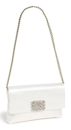 classic and chic: kate spade new york bridal purse