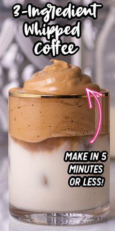 How to make the whipped coffee (Dalgona Coffee) Ingredients Instant Coffee (I highly recommend the Starbu. Coffee Ingredients, Baking Ingredients, Healthy Desserts, Dessert Recipes, Yummy Drinks, Yummy Food, Tasty, Coffee Drink Recipes, Coffee Drinks