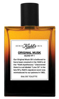 Original Musk Kiehl`s perfume - a fragrance for women and men 2004 | Yum! The very best - although I've primarily used the oil as opposed to the edt spray. Love this scent!