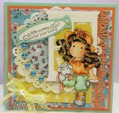 Magnolia Tilda Easter Treat Holder Card