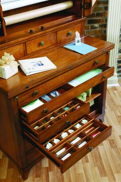 Antique Crafter Desk