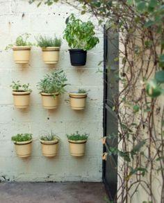vertical veggie and herb garden idea