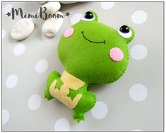 This is a digital tutorial on how to make the Frog Included step by step instructions, pictures and full size pattern pieces. (no need to enlarge or resize). Its completely hand sew and you dont need a sewing machine. THIS IS NOT A FINISHED TOY. THIS IS A PDF PATTERN DOWNLOAD.All needed materials you must to purchase yourself. Approx. size of toy is: about 4 inch tall. PDF tutorial includes: - Step by step pictures - English step by step instructions. - Materials list - Basic stitching gu...