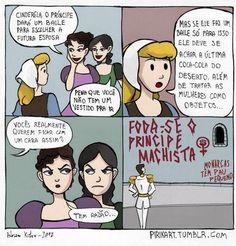 Prince Machista - New Site Dead To Me, Humor Grafico, Power Girl, Powerful Women, Bts Memes, Comic Strips, Jokes, Feelings, Comics