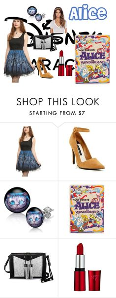 """disney - Alice"" by mduda0570 on Polyvore featuring Disney, Alice + Olivia, Olympia Le-Tan, Carianne Moore and Eugenia Kim"