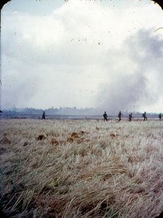 Soldiers of the 60th Infantry Regiment, 9th Infantry Division in the field. ~ Vietnam War