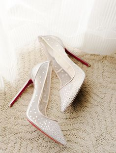 Wedding shoes idea; Featured Photographer: Jana Williams Photography