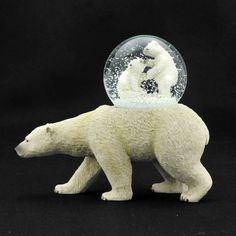 polar bear snowglobe