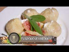 (192) Tvarohové knedlíky - Jahodové pokušení - YouTube Gazpacho, Lidl, Quinoa, Potato Salad, Dairy, Potatoes, Cheese, Meat, Chicken