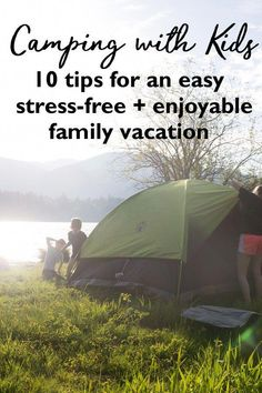 From years of experience I've compiled the best tips to make your next family #camping trip easy, relaxing and stress free. Whether you're an old pro or a newbie with this How to Go Camping with Kids guide you'll be creating life long memories and enjoying camping in no time - even with an armload of kids! Kid friendly camping | Kids camping tent | What camping tent to buy | Kids camping kit | camping activities for kids | camping near me #ad in partnership with Coleman USA