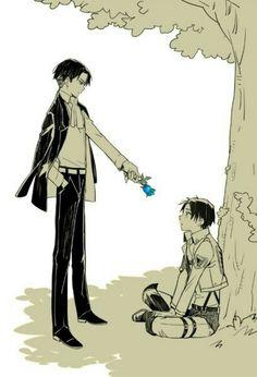 ~ snk ~ Eren ~ Levi