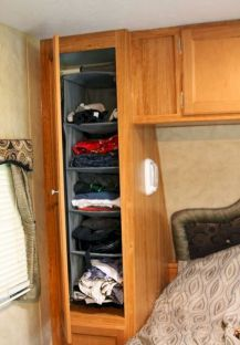 40 best solution camper storage ideas travel trailers (30)