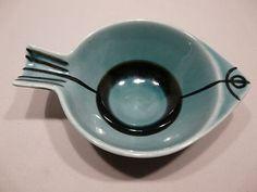 "Rare Gustavsberg ""STIM"" #2 Fish Bowl by Lisa Larson"