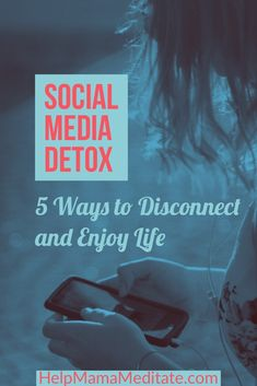 Need a social media detox? Check out five mindful ways to disconnect and enjoy real life again. Take a break from the negativity and start seeking joy. Detox Challenge, 30 Day Challenge, Social Media Detox, Digital Detox, Detox Tips, Inspirational Posters, Relationship Advice, 5 Ways, Self Improvement
