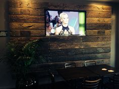 Another pub renovation I did out at wattle grove hotel sydney.... This is a centre piece feature wall around the main tv in the pub