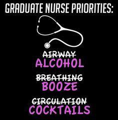 Nursing school graduate--@moxiethrift on etsy HUFFSTETLER lol..this is too funny!!!