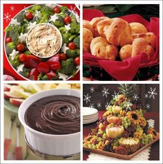 It's Written on the Wall: 24 Festive Christmas Appetizers You Can Make-People Will Talk! Christmas Appetizers, Appetizers For Party, Appetizer Recipes, Appetizer Ideas, Holiday Treats, Christmas Treats, Holiday Recipes, Christmas Recipes, Holiday Fun