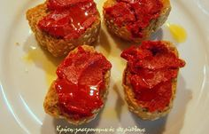 Bruschetta, Meatloaf, French Toast, Salads, Muffin, Food And Drink, Herbs, Jar, Breakfast