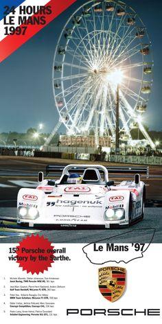 Porsche victory Le mans 1997