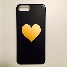 "Ban.do iPhone 5/5s case/cover black & gold Super cute iPhone 5/5s black with gold heart cover/case. In great condition!  Says ""you're the best"" on the inside!  Let me know if you have any questions!  ban.do Accessories Phone Cases"