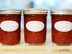 Tomato jam is awesome on a grilled cheese sandwich or a burger #recipe
