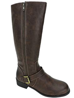 Naturalizer Women's Veracruz Tall Boots Bark Brown Riding Knee High 8.5M #Naturalizer #KneeHighBoots #Casual