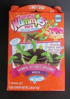 #YummyNummies Mini #Kitchen Magic Worms In Dirt #Dessert Maker NEW in #Toys & Hobbies, Preschool Toys & Pretend Play, Kitchens | #eBay