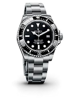Rolex Seadweller Black Dial Stainless Steel Mens Watch 116600BKSO