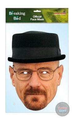 Heisenberg Breaking Bad Mask