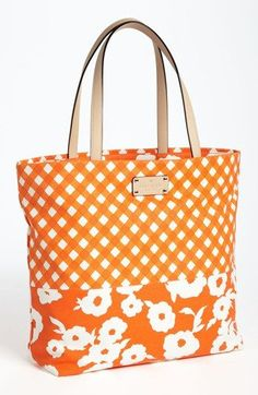 I am spoiled! Just got this kate spade new york day tripper canvas bon shopper from the Hubs~