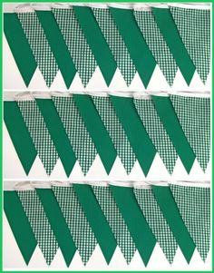 9mtrs handmade emerald green gingham single sided fabric bunting One Stop Bunting Shop http://www.amazon.co.uk/dp/B00B6T06B2/ref=cm_sw_r_pi_dp_-Er4tb0RF3Z72ERE