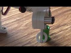Homemade micro robotic arm - YouTube