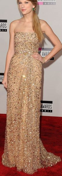 Taylor Swift's chic beaded Reem Acra