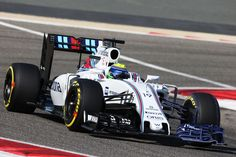 2016 the second round of Bahrain GP Felipe Massa (Williams)