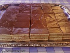 Zserbó recept | Receptneked.hu ( Korábban olcso-receptek.hu) Hungarian Desserts, Hungarian Cuisine, European Cuisine, Hungarian Recipes, Hungarian Food, My Recipes, Sweet Recipes, Cooking Recipes, Delicious Recipes