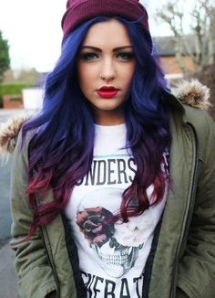 cool hair #grunge #fashion #photography | ☯ Grunge Goddess ☯ | We Heart It