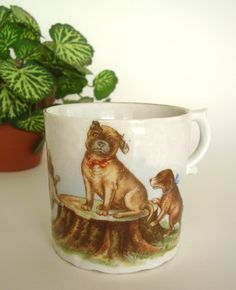 Victorian child's cup
