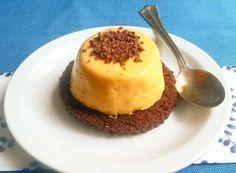Cucinare che Passione: Mousse ai cachi con marquise al cacao