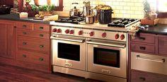 Sealed, seamless burner pans make clean-up a breeze. #NewWolfGasRanges
